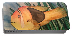Tomato Clown Fish Portable Battery Charger