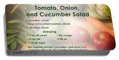 Tomato Onion Cucumber Salad Recipe Portable Battery Charger