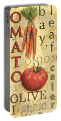 Tomato Soup Portable Battery Charger by Debbie DeWitt