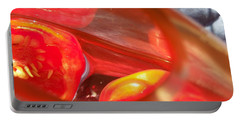 Tomatoe Red Portable Battery Charger