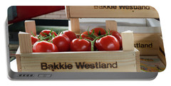 Tomatoes In A Crate Portable Battery Charger