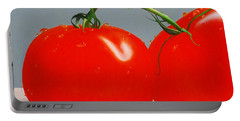 Tomatoes With Stems Portable Battery Charger