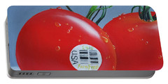 Tomatoes With Sticker Portable Battery Charger