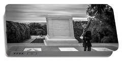 Portable Battery Charger featuring the photograph Tomb Of The Unknown Solider by David Morefield
