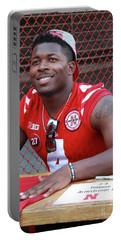 Tommy Armstrong Jr Quarterback Nebraska Football Portable Battery Charger