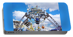 Portable Battery Charger featuring the photograph Tomorrowland by Greg Fortier
