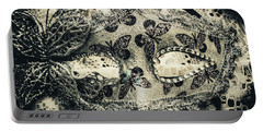Toned Image Of Beautiful Festive Venetian Mask Portable Battery Charger