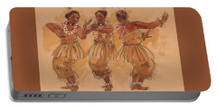 Tonga Dance From Niuafo'ou Portable Battery Charger