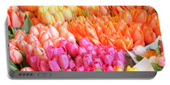 Tons Of Tulips Portable Battery Charger