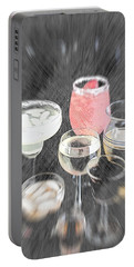 Portable Battery Charger featuring the photograph Too Many To Drive by Sherry Hallemeier