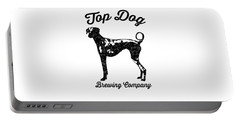 Top Dog Brewing Company Tee Portable Battery Charger