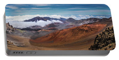 Top Of Haleakala Crater Portable Battery Charger