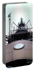 Top Of The Eiffel Tower 1955 Portable Battery Charger by Wernher Krutein