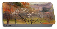 Top Quality Art - Plum Garden Portable Battery Charger