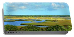 Topsail Island Marshland Portable Battery Charger