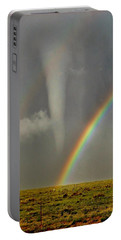 Tornado And The Rainbow II  Portable Battery Charger