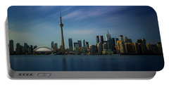 Toronto Cityscape Portable Battery Charger by Ian Good