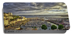 Portable Battery Charger featuring the photograph Torquay Sunset by Edmund Nagele