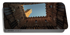 Torre Del Mangia Siena Italy  Portable Battery Charger