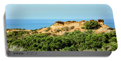 Torrey Pines California - Chaparral On The Coastal Cliffs Portable Battery Charger