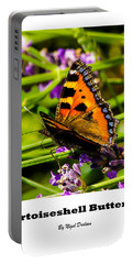 Tortoiseshell Butterfly. Portable Battery Charger