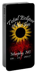 Total Eclipse T-shirt Art Murphy Nc Portable Battery Charger