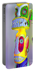 Totemic Mask Portable Battery Charger