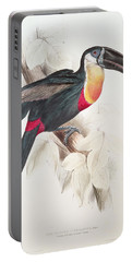 Toucan Portable Battery Charger by Edward Lear