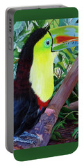 Toucan Portrait 2 Portable Battery Charger