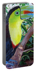 Toucan Portrait Portable Battery Charger