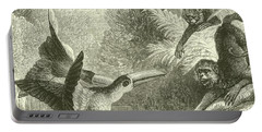 Toucans And Monkeys Portable Battery Charger