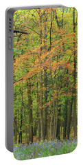 Touch Of Autumn Portable Battery Charger by Cedric Hampton