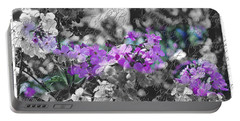 Touch Of Phlox Portable Battery Charger