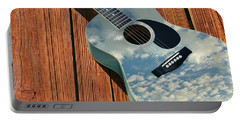 Portable Battery Charger featuring the photograph Touch The Sky by Laura Fasulo