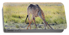 Portable Battery Charger featuring the photograph Tough Job by Betty-Anne McDonald