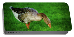 Toulouse Goose  Portable Battery Charger