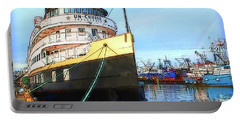 Tour Boat At Dock Portable Battery Charger