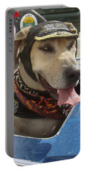 Tourist Dog 2 Square Portable Battery Charger