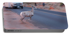 Tourists Intrusion In Nature Portable Battery Charger