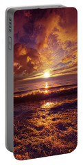 Portable Battery Charger featuring the photograph Toward The Far Reaches by Phil Koch