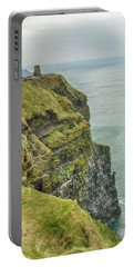 Tower At The Cliffs Of Moher Portable Battery Charger