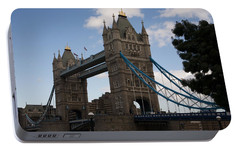 Portable Battery Charger featuring the photograph Tower Bridge London by Christopher Rowlands
