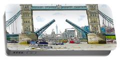 Tower Bridge London England Portable Battery Charger