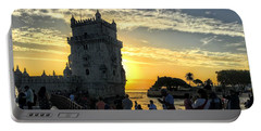 Tower Of Belem Portable Battery Charger