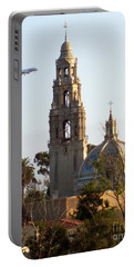Tower Of Casa De Balboa In Balboa Park In San Diego - 2017 Portable Battery Charger