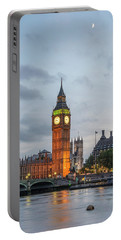 Tower Of London In The Moonlight Portable Battery Charger