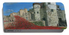 Tower Of London Poppies - Blood Swept Lands And Seas Of Red  Portable Battery Charger
