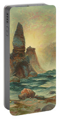 Towers Of Tower Falls, Yellowstone National Park 1876 Portable Battery Charger