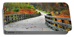 Towpath In Summit County Ohio Portable Battery Charger