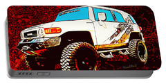 Toyota Fj Cruiser 4x4 Cartoon Panel From Vivachas Portable Battery Charger